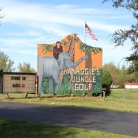 Photo taken at Maggie's Jungle Golf by Ashley M. on 4/20/2013