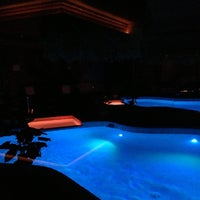 Photo taken at Sybaris Pool Suites by Mike S. on 10/26/2012