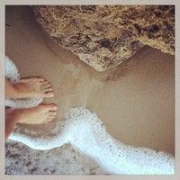 Photo taken at Municipal Beach by Аленка Б. on 7/19/2013
