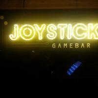 Photo taken at Joystick Gamebar by Benjamin H. on 11/12/2012