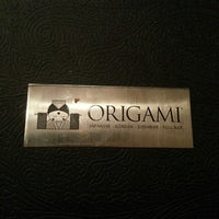 Photo taken at Origami by Miriam B. on 12/12/2013