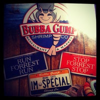 Photo taken at Bubba Gump Shrimp Co. by Darwin C. on 2/21/2013