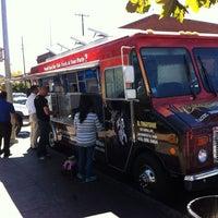 Photo taken at El Tonayense Taco Truck by Rodrigo M. on 9/16/2013
