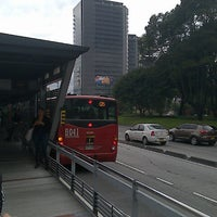 Photo taken at TransMilenio: Pepe Sierra by Travieso M. on 5/20/2013