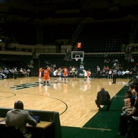 Photo taken at USF Sun Dome by Amy H. on 2/23/2013