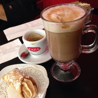 Photo taken at Zaza Espresso Bar by Kat C. on 10/12/2013
