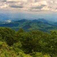 Photo taken at Wayah Bald by Richard F. on 5/26/2014