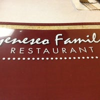 Photo taken at Geneseo Family Restaurant by Alex G. on 3/1/2013