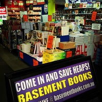 Photo taken at Basement Books by Peter M. on 9/3/2013