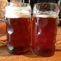 Photo taken at VBGB Beer Hall & Garden/Restaurant by John C. on 7/24/2013