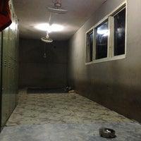 Photo taken at Smoking Area Main Workshop Tyre Pama Indo by Nimkum D. on 2/18/2013