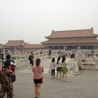 Photo taken at Forbidden City (Palace Museum) by Britt S. on 6/16/2013