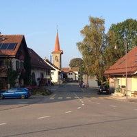 Photo taken at Commune de Montilliez by Tim B. on 10/3/2014