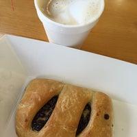 Photo taken at Vie De France Bakery & Cafe by Juliette E. on 12/6/2014