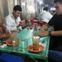 Photo taken at Tenda Biru by hamdi a. on 6/22/2013