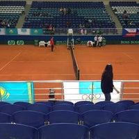 Photo taken at Daulet National Tennis Centre by Aselek on 4/6/2013