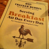 Photo taken at Cracker Barrel Old Country Store by Michael S. on 12/1/2012