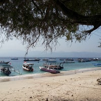Photo taken at Gili Trawangan by Dmitrii on 10/7/2015