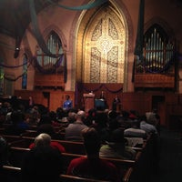 Photo taken at Middle Collegiate Church by Jim K. on 11/6/2013