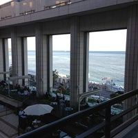 Photo taken at Hyatt Regency Nice Palais de la Mediterranee by Elena O. on 7/29/2013