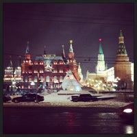 Photo taken at Manezhnaya Square by Ekaterina R. on 3/25/2013