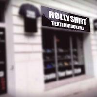 Photo taken at HollyShirt Textildruckerei by HollyShirt Textildruckerei on 3/26/2015