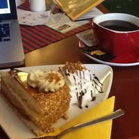 Photo taken at Vagón Café by Marek K. on 5/11/2013