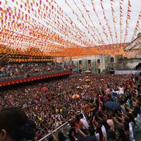 Photo taken at Basilica Minore del Santo Niño by Kyle Vincent H. on 1/13/2015