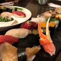 Photo taken at Sushi Sanrikumae by Masahiro K. on 2/19/2017