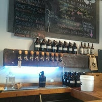 Photo taken at Trillium Brewing Company by Chris B. on 7/31/2014