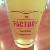 Photo taken at The Factory Tavern by Chris B. on 10/12/2013