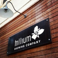 Photo taken at Trillium Brewing Company by Chris B. on 5/31/2013