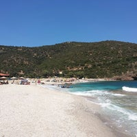 Photo taken at Limnionas Beach by Τolis Α. on 7/20/2013