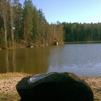 Photo taken at Pilvijärvi by Saana on 4/20/2014