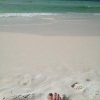 Photo taken at Miramar Beach by Donna R. on 3/30/2013