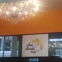 Photo taken at Ann Sande Café by Jeffrey H. on 12/13/2013