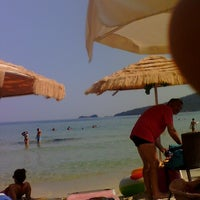 Photo taken at BeBa beach bar by Rao M. on 8/12/2013