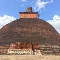Photo taken at Jetavana Stupa by Marissa C. on 2/15/2016