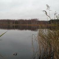 Photo taken at Климовские карьеры by Sergey G. on 10/27/2013
