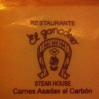 Photo taken at El Ganadero - Steak House by Marcela L. on 4/7/2013