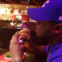 Photo taken at Red Robin Gourmet Burgers by Rebecca A. on 1/15/2016