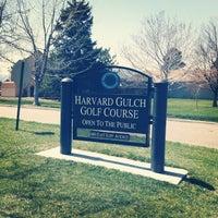 Photo taken at Harvard Gulch Golf Course by Tamerlan M. on 4/26/2013