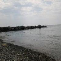 Photo taken at пляж лесная by rika i. on 7/14/2013