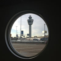 Photo taken at Amsterdam Airport Schiphol (AMS) by Isabel M. on 11/20/2013