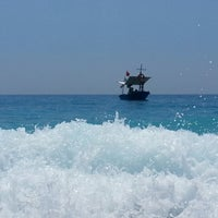 Photo taken at Belcekız Plajı by 👉 Ayk ✌. on 7/13/2013