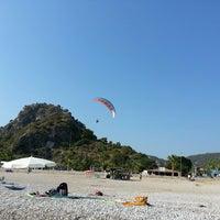 Photo taken at Belcekız Plajı by 👉 Ayk ✌. on 7/12/2013