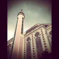 Photo taken at Al-Iman Mosque by H∆FIZ H. on 3/22/2013