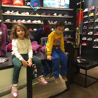 Photo taken at NIKE STORE by Hamide S. on 12/27/2015