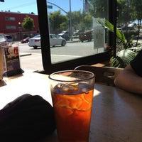 Photo taken at Mercury Cafe by Liz C. on 6/29/2013