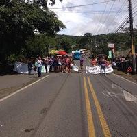 Photo taken at San Juan De Naranjo by Vale M. on 9/12/2014